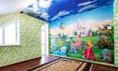 Как подобрать натяжные потолки для детской комнаты