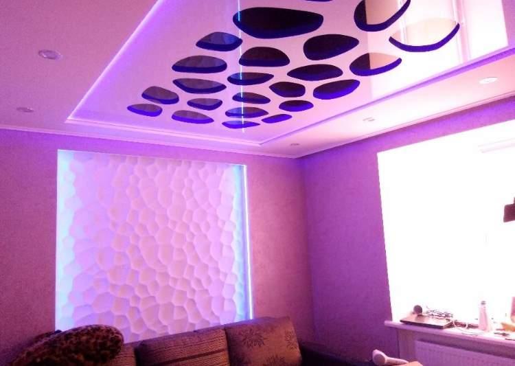 Натяжной потолок заказать для квартиры